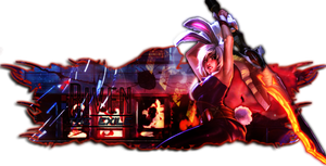 League of Legends - Bunny Riven Pop-out Siggy by lolSmokey