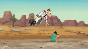 Dr. Doofenshmirtz Rescues Perry (animated) by jaycasey