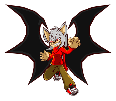 Sonic Battle: Red the Bat by Cerberean