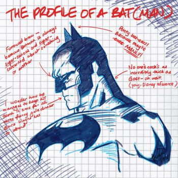 The Profile of a Bat(man) by StephWSM