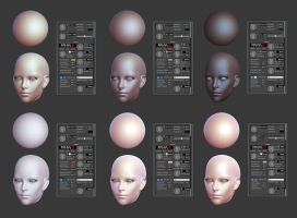 Xoliul 2.0 Skin Shader Settings 2 by HazardousArts