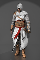 Assassin's Creed Revelations - Altair ibn La'Ahad by IshikaHiruma