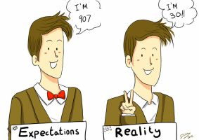 Expectations vs Reality by dinamata