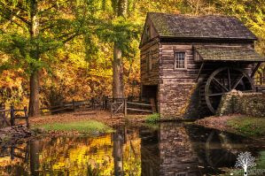 The Old Mill by JustinDeRosa