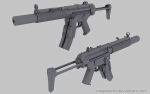 HK MP5 SD by MeganeRid