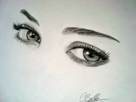The Eyes Can't Lie by BSSaly