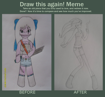 Before and After Meme: Thursday by Perianth5
