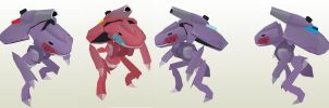 Genesect Army by javierini