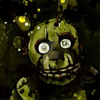 Five Nights at Freddy's 3 Spring Trap by RootisTabootus
