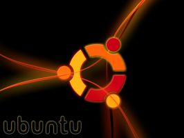 Ubuntu Abstract Wallpaper by mesm90