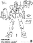 GM mod. Lineart by twtmaster