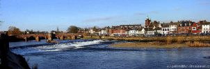 The River Nith by printsILike