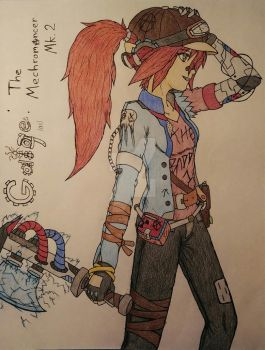 If Gaige was in Borderlands 3 (Completed) by Talon-Reiif