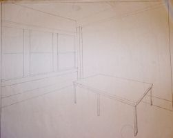 2 point linear perspective by TanisaurusRex
