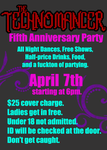 Technomancer 5th Anniversary (UtNL Launch) by ShiroChaan