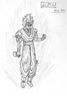Goku - Being Epic by Wormy16