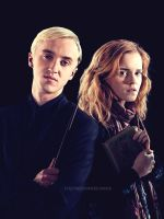 Draco and Hermione love by EvgeniaSummer