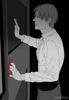 Open the door and let me in, please. by M-seiran