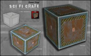 SciFi Crate 002 by inception8-Resource