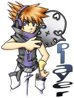 Fan Badge: TWEWY by ScuttlebuttInk