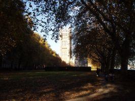 The Palace of Westminster by TheGoddess908