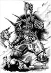 Black Orc Warboss by Taidaishar