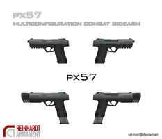 PX57 Tactical Pistol by Rxl-Noir