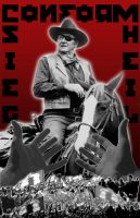 John Wayne: CONFORM by TomAkaVeto