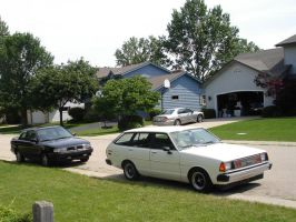 Datsun 210 and Sentra SE-R by motoryeti