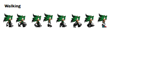 Duke Walking Sprites by DukeDN