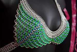 Blue and Green Glow Top by Utopia-Armoury