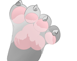 Stepped in some milk by Cloufy