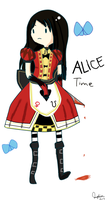 It's Wonderland Time with Alice by MidoMidori