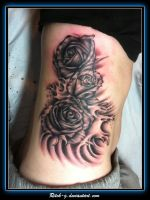 Roses on Ribs by ritch-g