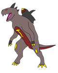 Legendary Fakemon - Mechasaur by TuffTony
