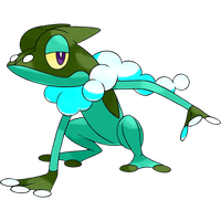 Frogadier (Shiny Theory) by HGSS94