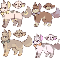 Canine Adoptable Batch closed by Foxstars