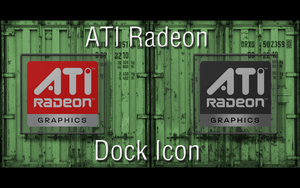 ATI Radeon-Dock Icon by GiggsyBest
