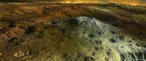 Cineraceus Crater by Vidom