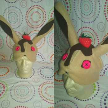 Chocolate Strawberry Bunny  by Sew-it-all