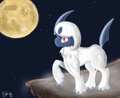 Absol by A-Psycho-Banana