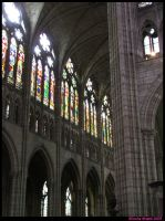 Saint-Denis - Arches by spookiedoofus