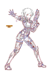 [sketch] naida mass effect 3 - couleur by Naruttebayo67