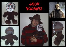 Jason Voorhees Plush - FVJ by xEvilxPenguinxNinjax