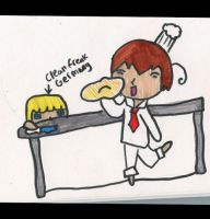 Hetalia: cooking with Italy by matisse77