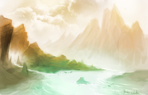 Copper Mountains by StayPuftShrimp