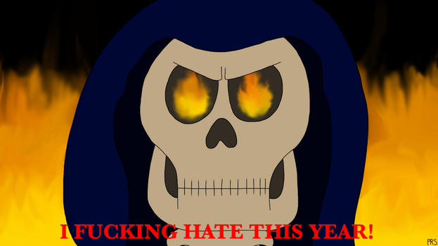The Grim Reaper Reacts to 2016 by PRStorm
