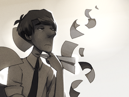 Paperman by Karzahnii