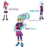 Sour Sweet and Sugar Coat Fusion by DoraemonFan4Life