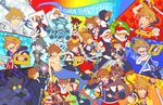 KH - Ultimate Sora Partay by rasenth